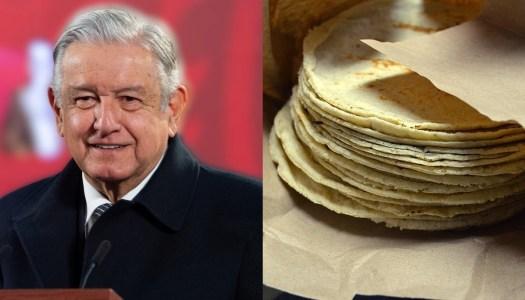 Gobierno de AMLO logra acuerdo para que la tortilla no suba de precio