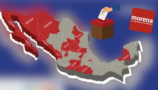 Morena arrasaría en elecciones a gobernador del 2021