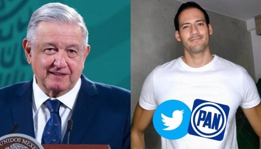 AMLO revela que director de Twitter en México está vinculado al PAN
