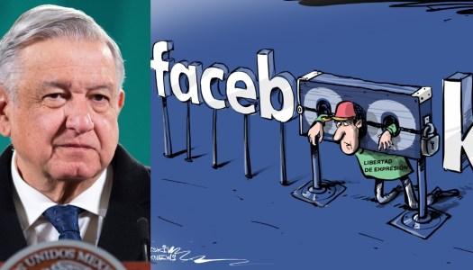 """AMLO alerta que Facebook podría volverse una """"Santa Inquisición"""""""