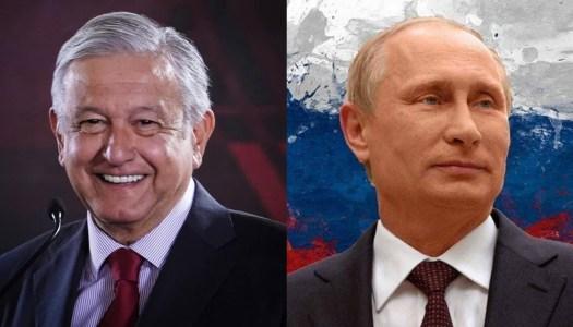 Pese a tener Covid, AMLO hablará con Putin para cerrar trato de las vacunas