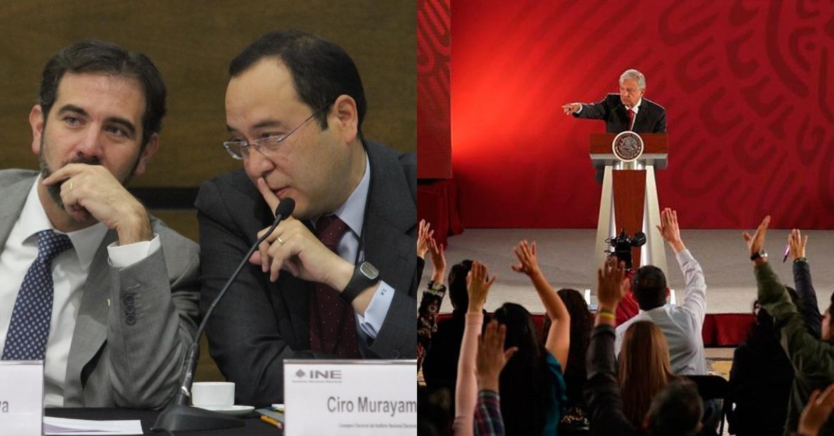 Taim-Lain INE insinúa que Gobierno de AMLO paga a reporteros de las mañaneras Por Polemón • 21 horas antes  14 Ene  2021