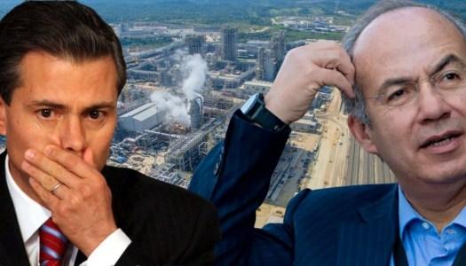 Planta chatarra de Calderón y EPN le ha costado 7 mil millones a Pemex
