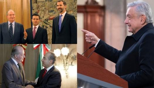 Opositores extrañan a españoles porque con ellos podían robar: AMLO