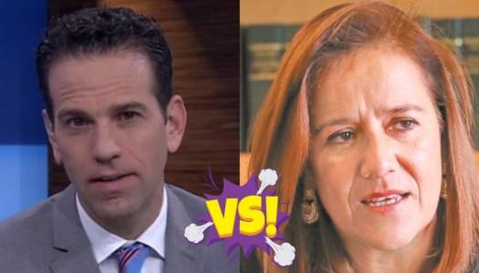 Loret critica a Margarita Zavala… ella enfurece y se le echa encima
