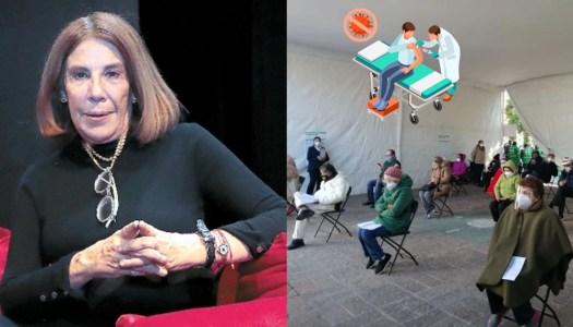 Tunden en redes a Sabina Berman por criticar plan de vacunación
