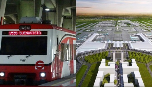 Tren Suburbano llegará al Aeropuerto de Santa Lucía en 2023
