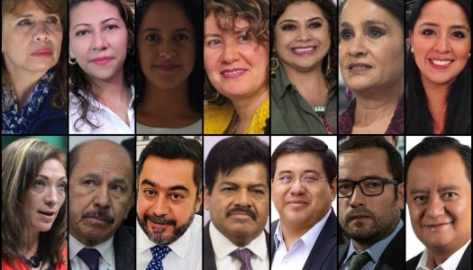 Ellas y ellos son los candidatos de Morena en la CDMX