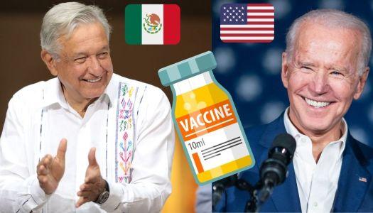 """Se burlaron porque AMLO """"no conseguía"""" vacunas en EU; hoy los humilló"""