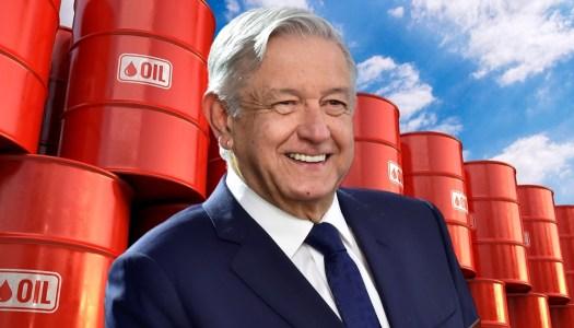 Con AMLO el 2021 dejaría 300 mil millones de excedente petrolero