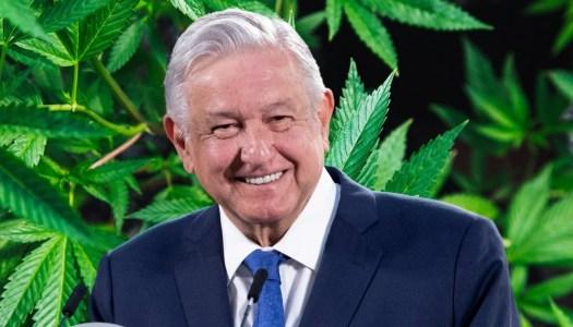 AMLO cumple; la 4T legaliza la mariguana en México