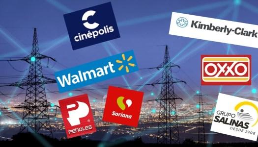 El gran atraco de las grandes empresas para no pagar luz en México