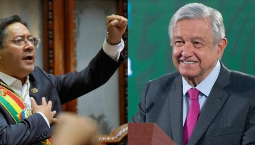 Presidente de Bolivia será invitado de honor en mañanera de AMLO