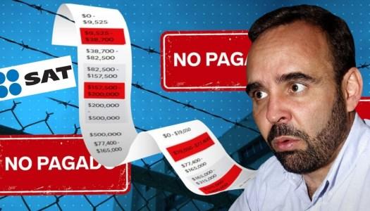 Arne Aus den Ruthen evadió más de 6 millones de pesos en impuestos