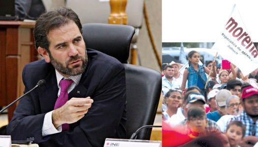 Se lanza otra vez Lorenzo Córdova contra Morena
