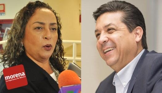 Diputada de Morena afín a Cabeza de Vaca intenta sabotear a candidatos
