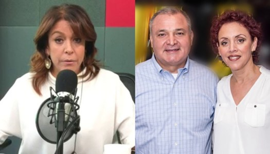 Fernanda Familiar habría lavado 3.5 millones a esposa de García Luna