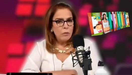 Fernanda Familiar exhibe su ignorancia al hablar de los libros de texto de la 4T