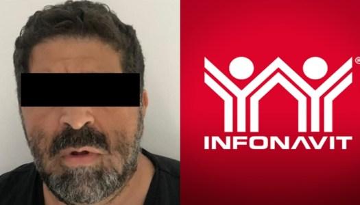FGR detiene a Teófilo Zaga por saquear al Infonavit con el PRIAN