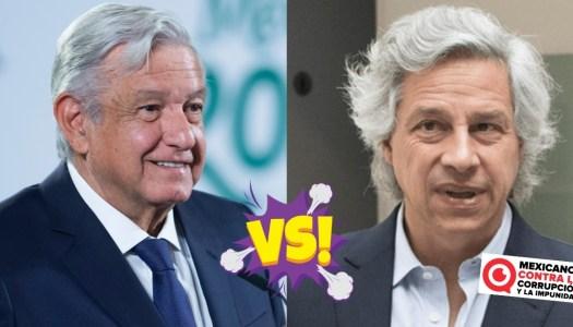 AMLO reclama a EU por financiar a ONG de Claudio X. González