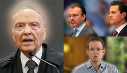 FGR va por EPN, Videgaray y Anaya; los acusa de crear red de sobornos