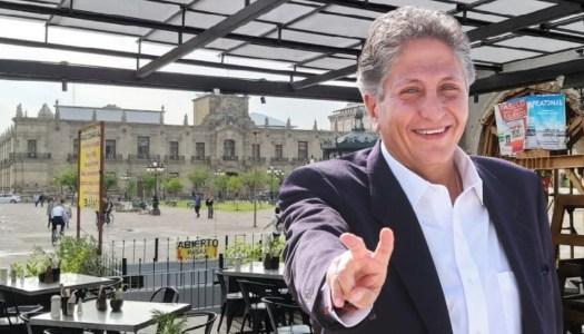 Frangie, el candidato de MC que se apoderó de las plazas públicas de Guadalajara