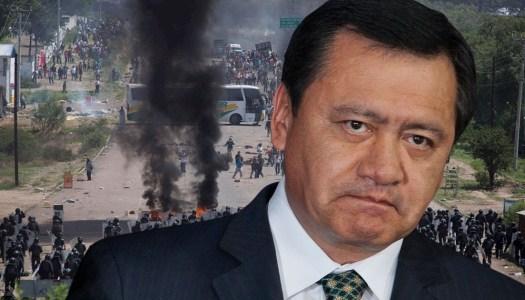 Juez ordena a la FGR citar a Osorio Chong por masacre en Nochixtlán