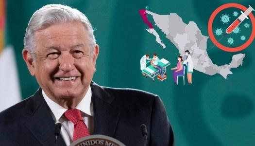 AMLO vacunará a toda Baja California en 10 días