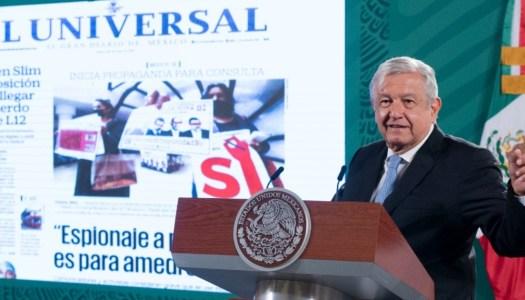 AMLO inaugura con El Universal el quién es quién de las noticias falsas