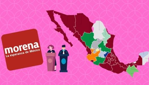 Morena ganó la mayoría en 19 congresos locales del país
