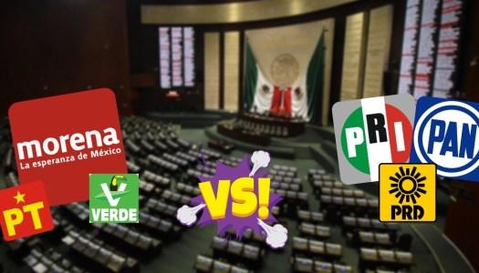 Morena y aliados le ganan 2 diputaciones más al PRIANRD