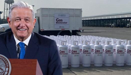 AMLO anuncia que Gas Bienestar iniciará operaciones en 2 meses