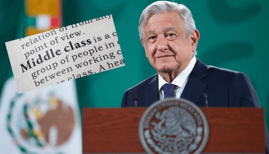 La clase media y el mensaje de AMLO