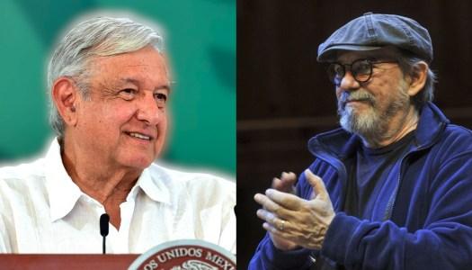 AMLO pide a EU acabar bloqueo a Cuba y Silvio Rodríguez le agradece