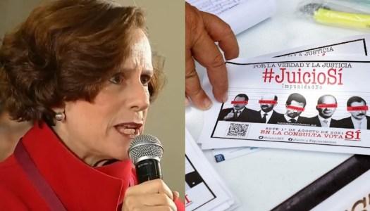 Dresser estalla contra la consulta para juzgar a ex presidentes