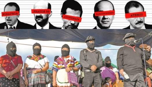 EZLN se suma a consulta popular para enjuiciar a ex presidentes