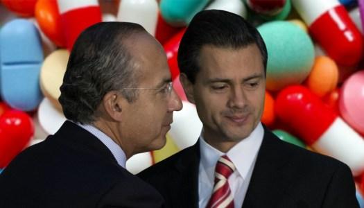 Calderón y Peña Nieto pagaron espionaje con dinero para medicinas