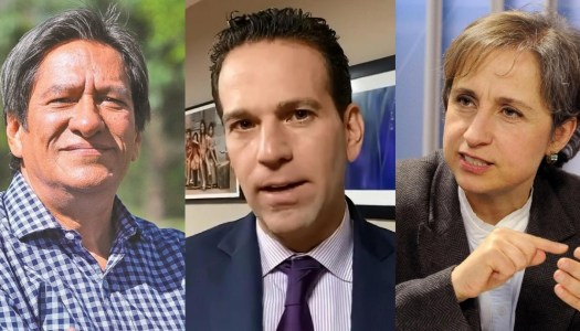 "Carmen Aristegui llama ""peoncito"" a Loret y Julio Astillero lo remata"