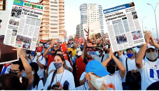 Así mienten y ocultan la realidad los medios mexicanos: el caso Cuba