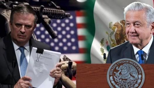 Gobierno de AMLO demanda a empresas fabricantes de armas en EEUU