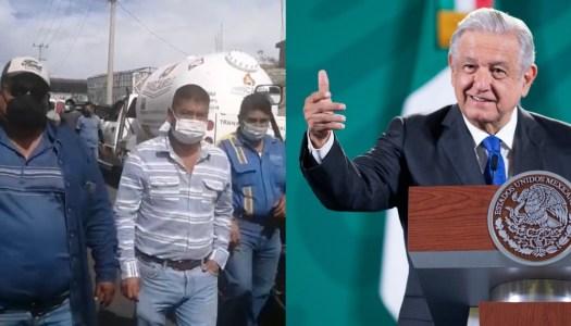 """AMLO se lanza contra gaseros y les advierte: """"no doblegarán al Estado"""""""