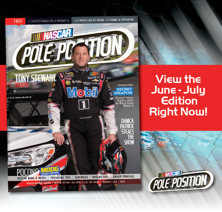 June-July Edition of NASCAR Pole Position Now Available