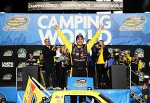 Matt Crafton becomes first back-to-back champion in NASCAR Camping World Truck Series History