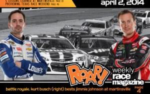 ROAR! April 2, 2014