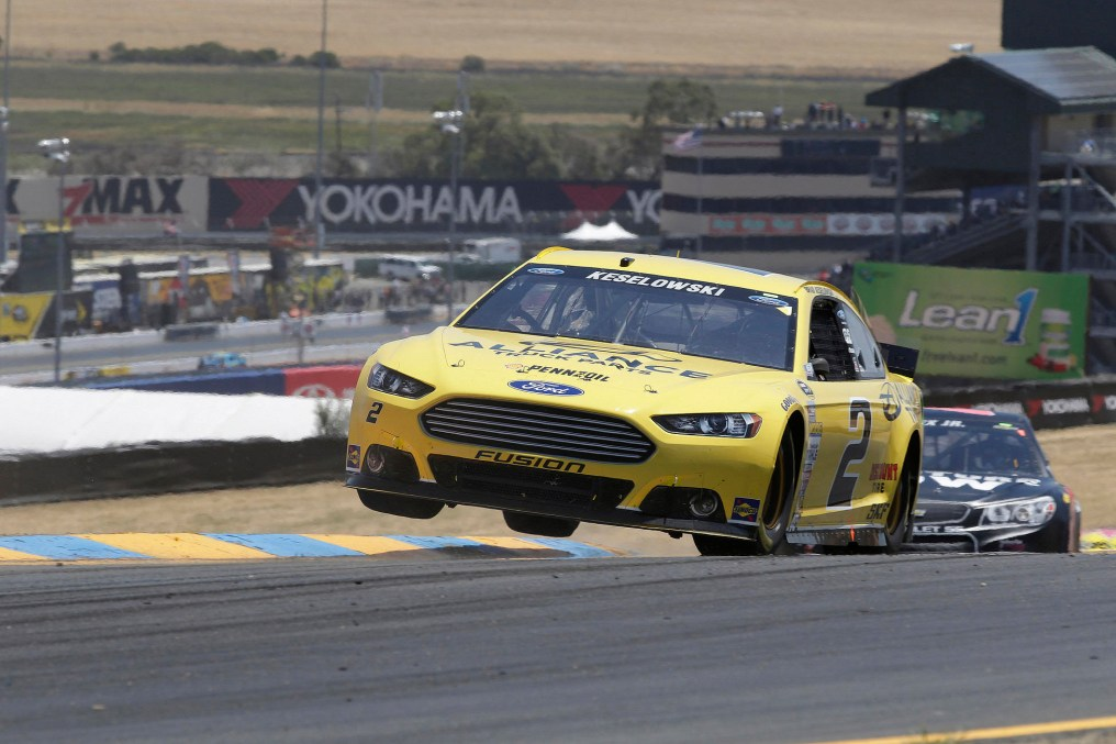 at Infineon Raceway in Sonoma, California on June 22, 2014.Don Grassmann/CIA STOCK PHOTO