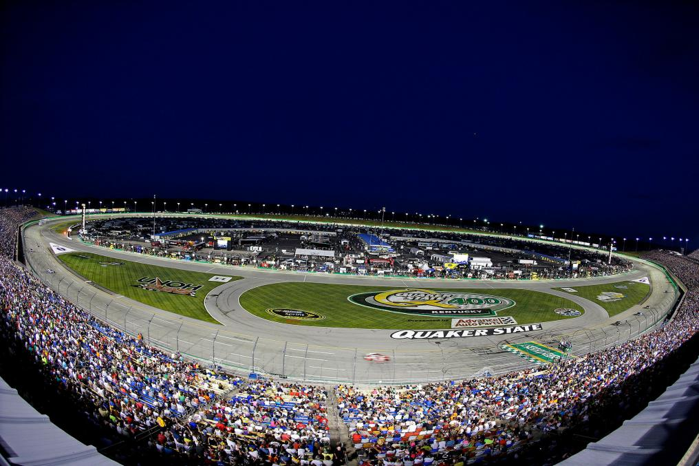 At Kentucky Speedway in Sparta, Kentucky on June 28, 2014. Tommy Grassmann/CIA