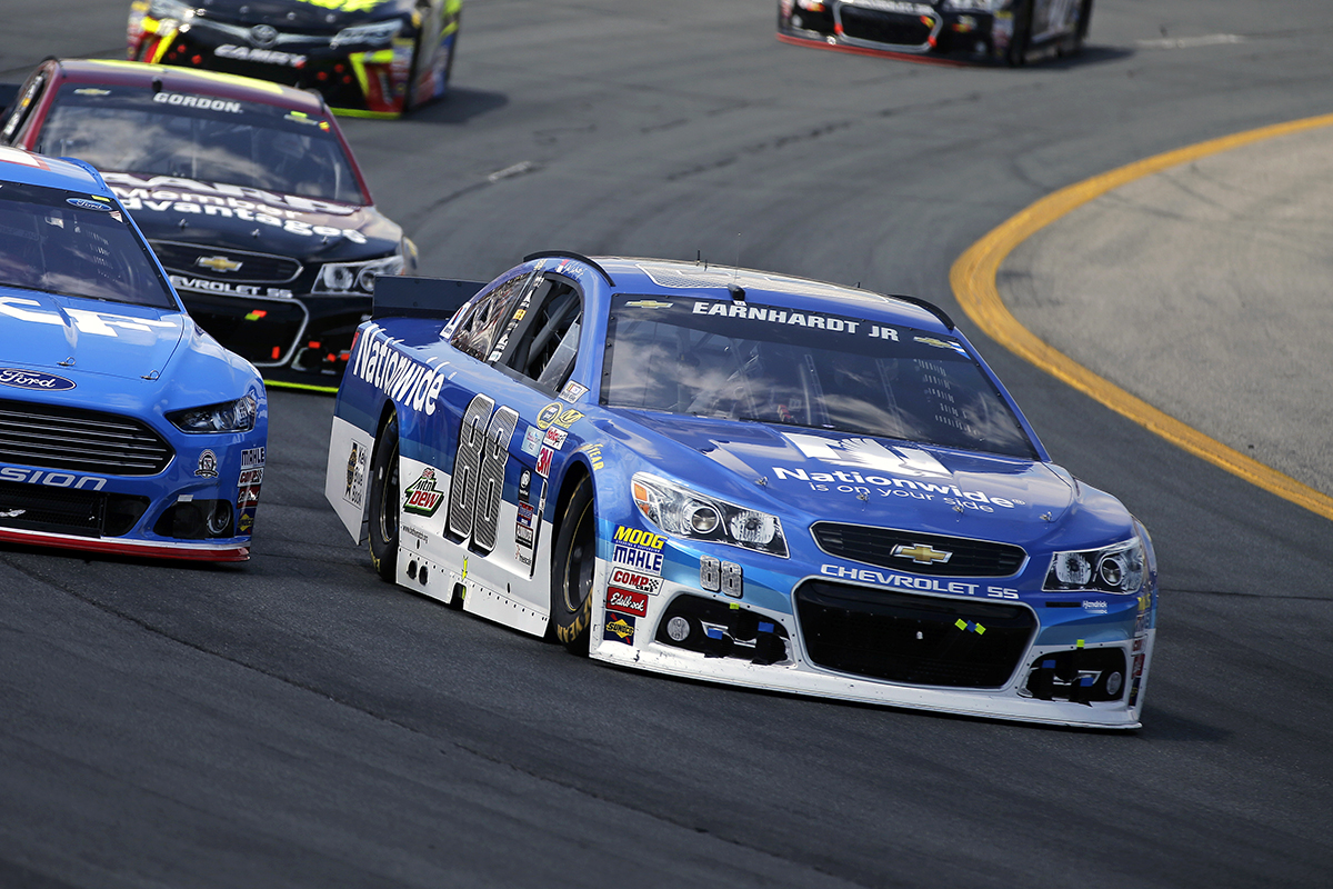 At New Hampshire Motor Speedway in Loudon, New Hampshire on July 19, 2015. CIA Stock Photo