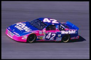 12 Nov 1995: Kyle Petty races at the Nascar NAPA 500 at the Atlanta Motor Speedway in Hampton, Georgia.