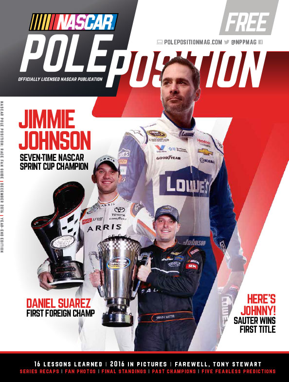 NASCAR Pole Position Year in Review