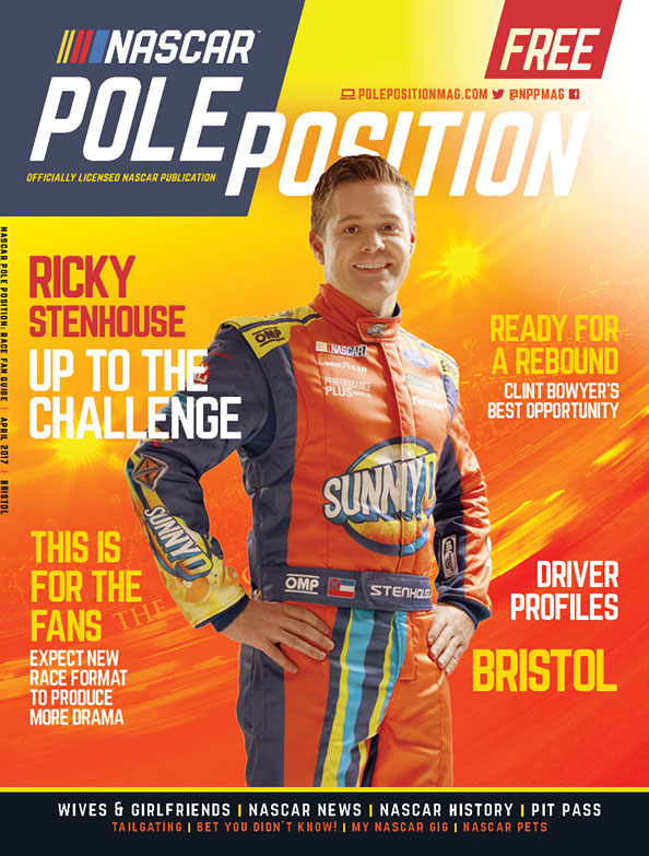 NASCAR Pole Position Bristol in April 2017